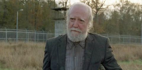 Scott Wilson como Hershel en The Walking Dead