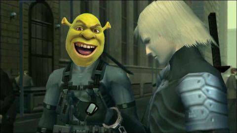 Metal Gear Solid 2 Shrek