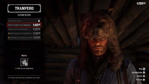 Trampero Red Dead Redemption 2