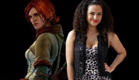 Anna Shaffer es Triss Merigold en la serie The Witcher
