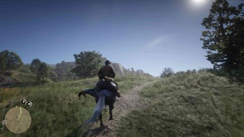 Cazarrecompensas en Red Dead Redemption 2