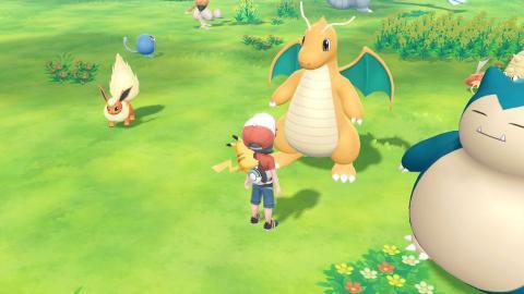 Dratini Pokémon Let's Go