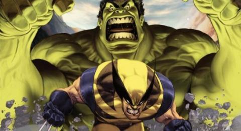 Hulk y Lobezno