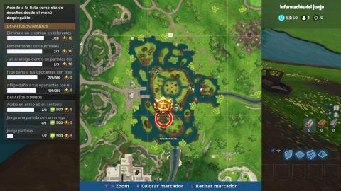 Partida de caza de la semana 7 mapa