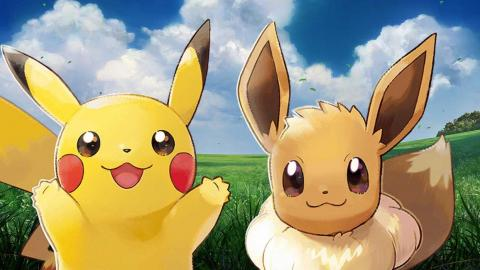 Pokémon Let's GO Pikachu/Eevee - Principal
