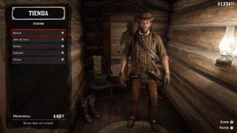 Red Dead Redemption 2 atuendos Wallace