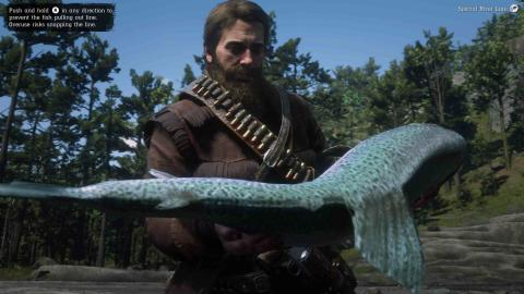 Red Dead Redemption 2 peces legendarios