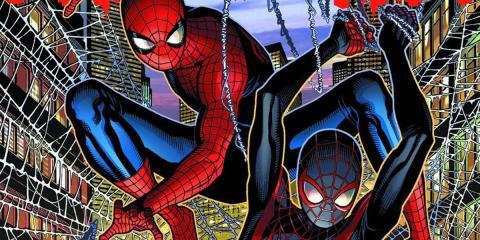 Spider-men - El encuentro de Peter Parker y Miles Morales
