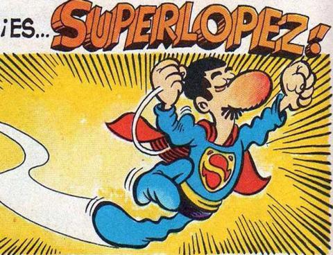 Superlopez, en el tebeo