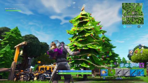 Arboles de navidad Fortnite