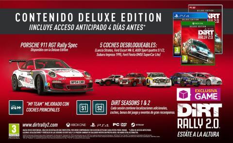 DiRT Rally 2.0 Deluxe Edition en GAME