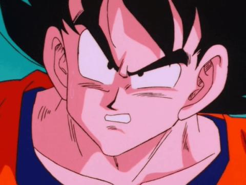 Dragon Ball Z capítulo 30 Goku contra Vegeta