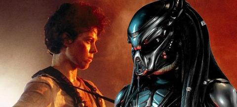 Ellen Ripley y Predator