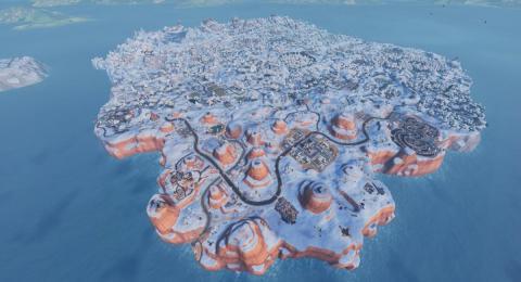 Fortnite isla nevada