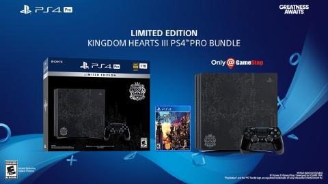 PS4 Pro Edición Especial Kingdom Hearts 3