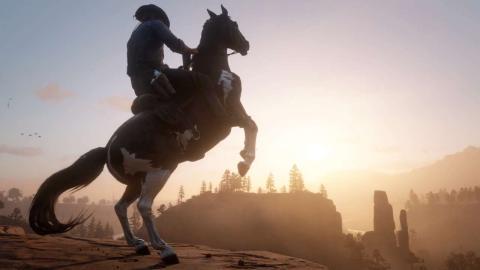 Red Dead Redemption 2 - Monta caballos salvajes