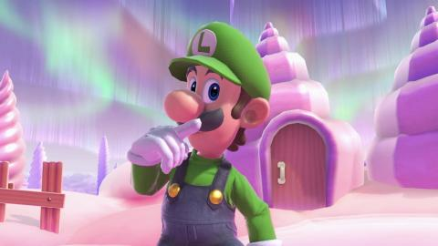 Super Smash Bros. Ultimate - Luigi