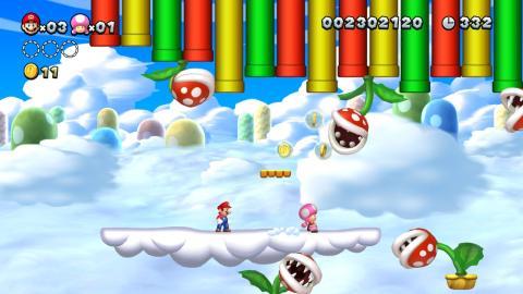 Análisis de New Super Mario Bros U Deluxe para Nintendo