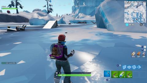 disco de hielo fortnite donde lanzar