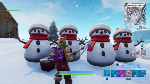trucos muñeco de nieve sigiloso Fortnite