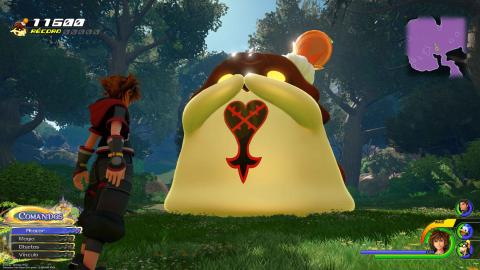 Kingdom Hearts 3 flanes fantásticos