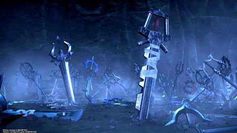 Kingdom Hearts 3 todas las llaves espada