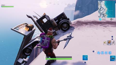 donde esta camion accidentado fortnite
