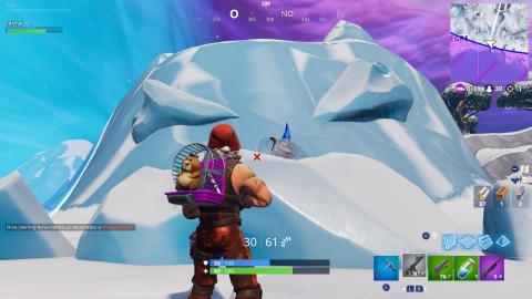 gnomos congelados fortnite localizacion 7 sur zona helada