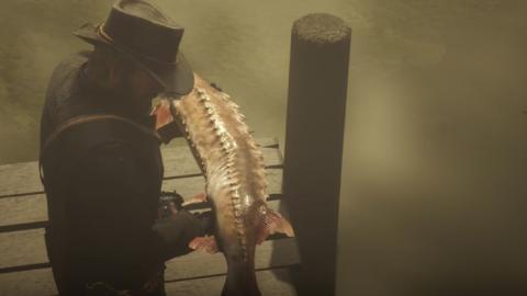 Pescar Red Dead Redemption 2