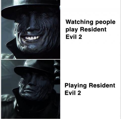 Resident Evil 2 Remake Mr. X