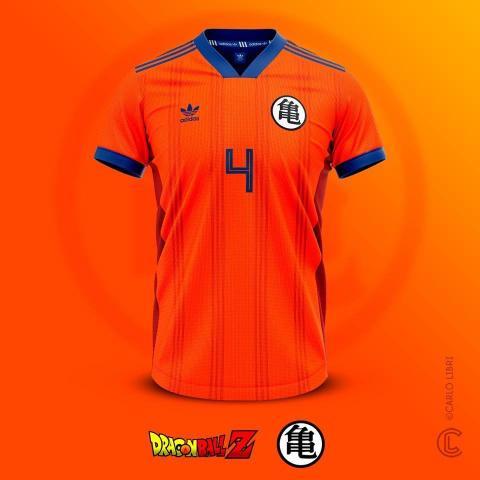 Dragon Ball Z - Las equipaciones de fútbol