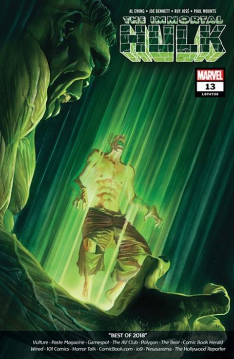 Portada del cómic Immortal Hulk #13
