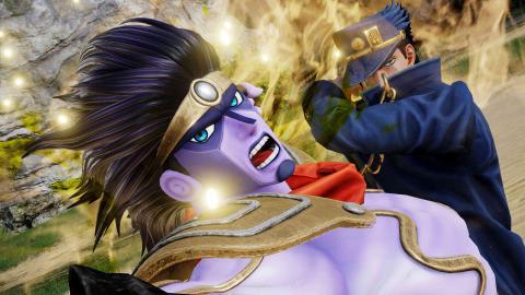Dio y Jotaro en Jump Force