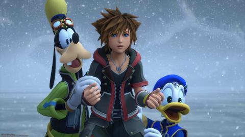 portafortuna y tesoros Arendelle Kingdom Hearts III