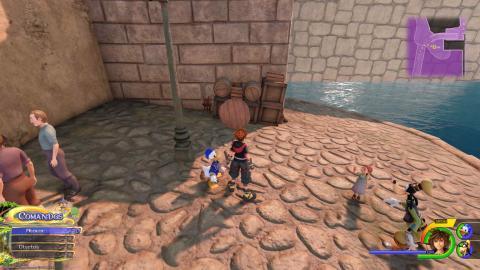 portafortuna reino de corona Kingdom Hearts III