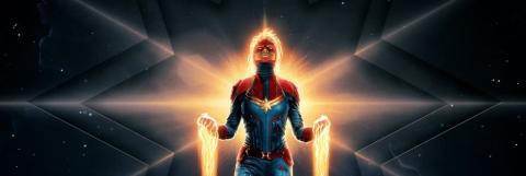 Capitana Marvel - Nuevo póster con la protagonista volando