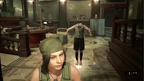 Resident Evil 2 Remake Mr X Sherry mod