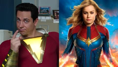 Zachary Levi, el protagonista de Shazam!, pide a sus fans que no ataquen a Capitana Marvel