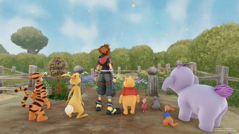 Bosque de los 100 Acres Kingdom Hearts 3