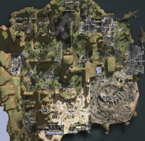 Apex Legends Mapa
