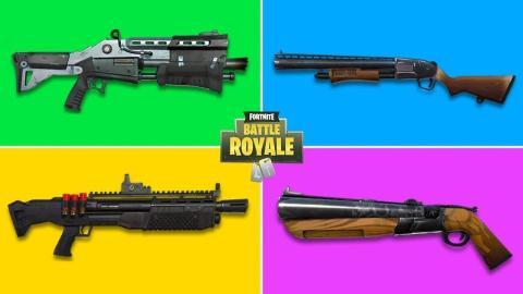 Fortnite escopeta