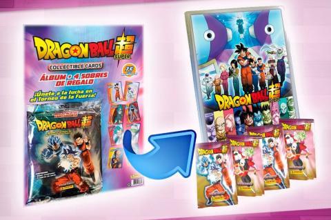 Dragon Ball Super cards y figuras Panini