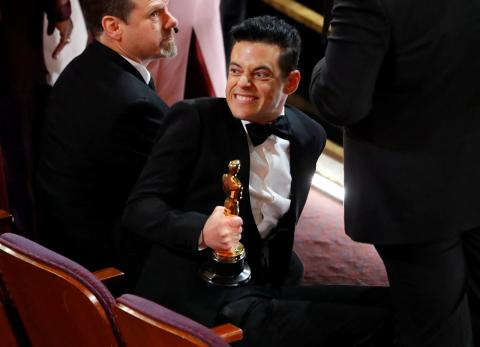 Rami Malek, Premio Oscar al mejor actor