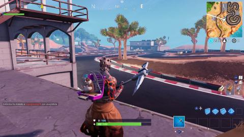 registra cofres y cajas de municion en Fortnite