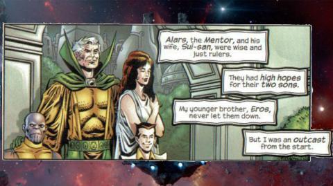 Thanos y su familia