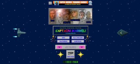 Portada web Capitana Marvel
