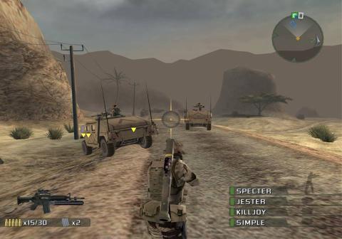 SOCOM US Navy Seals PS2