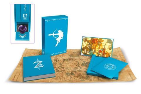 Zelda Breath of the Wild libro de arte