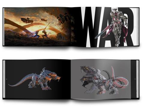 Final Fantasy XV libro arte