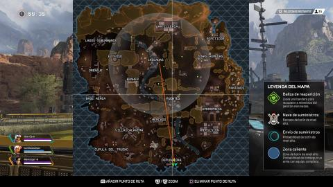 Apex mapa